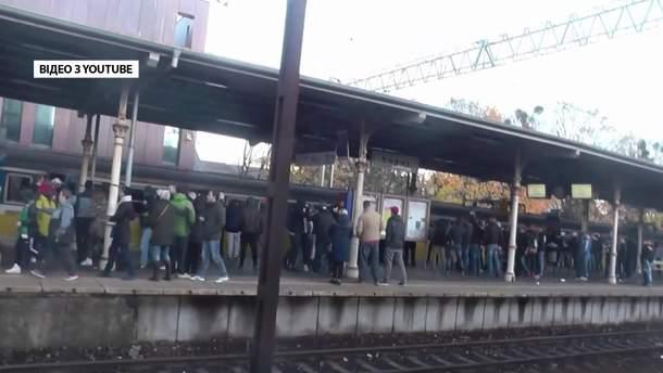 Бомба у польському поїзді виявилась вигадкою