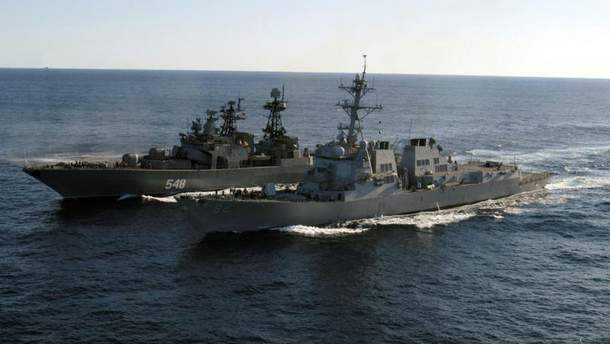 Латвия заметила российские корабли