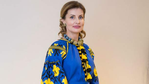 Картинки по запросу Марина Порошенко вышиванка