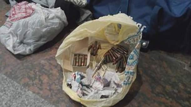 Найденные боеприпасы