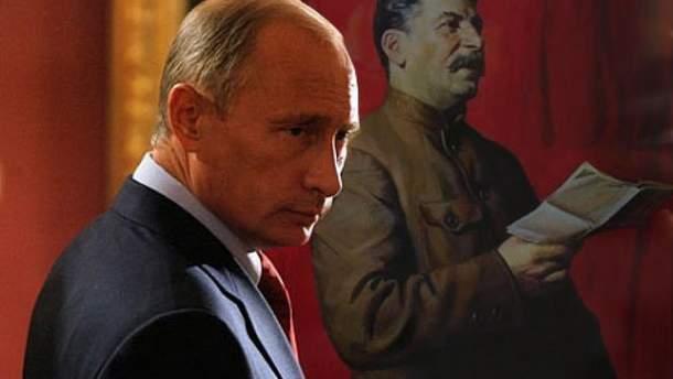 Путин называет себя наследником великой Победы