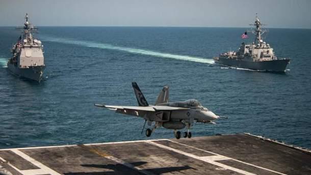 Военный корабль ВМС США попал в аварию в Японском море