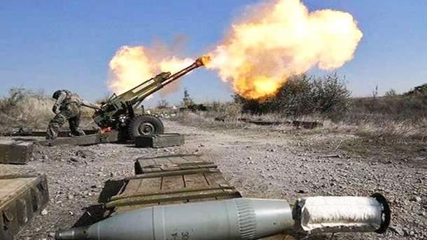 Російська артилерія в Сирії