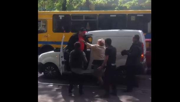 Бійка через ДТП в Одесі