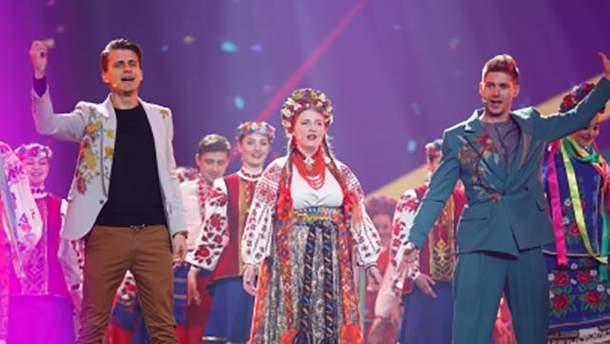 Во втором полуфинале Евровидения-2017 ведущие показали свои таланты