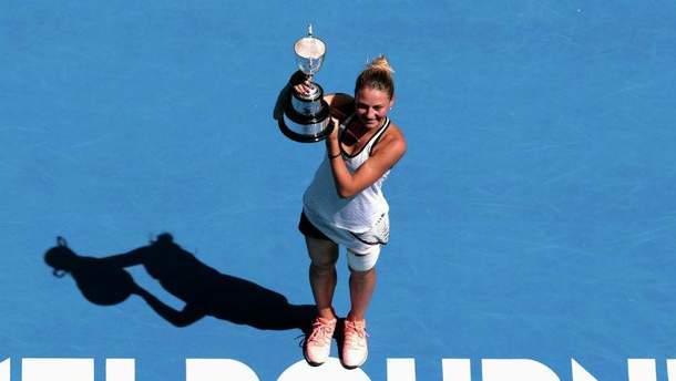 Украинская теннисистка Марта Костюк