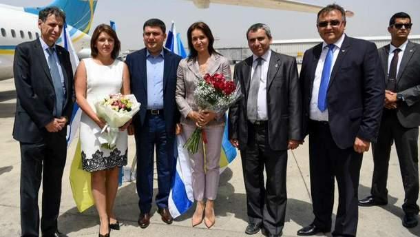 Владимир Гройсман в Израиле