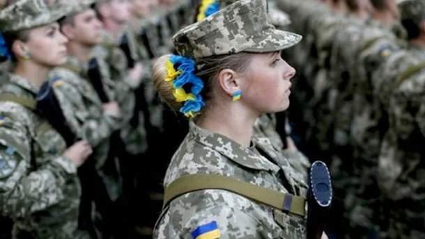 Ранение в зоне АТО получила женщина-военнослужащая