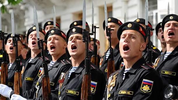 Росія готує свої війська до наступу в Криму