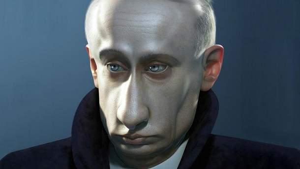 Володимир Путін (Карикатура)