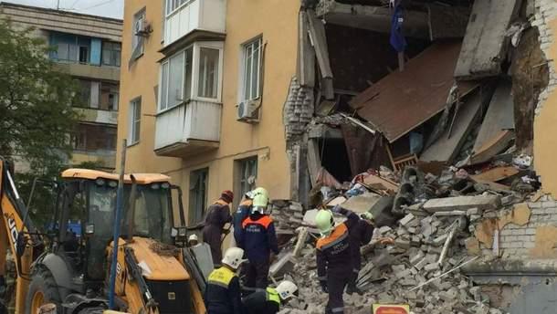Обвал дома в России  появились жуткие видео трагедии - 24 Канал 1324941fdd5