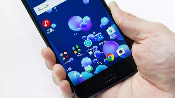 Новий смартфон HTC U11