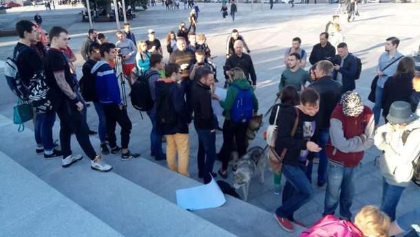У Харкові протестують проти заборони
