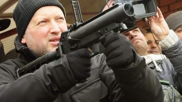 Секретар РНБО Олександр Турчинов закликав світ поставити Росію на місце