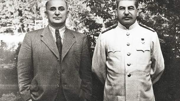 Берия и Сталин