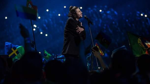 Выступление Сальвадора Собрала на Евровидении-2017
