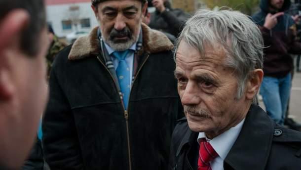 Національний лідер кримських татар Мустафа Джемілєв