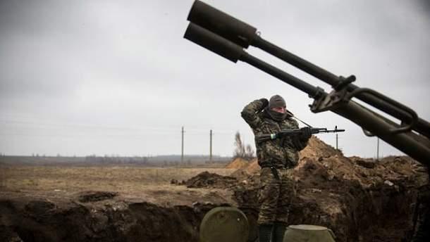 Украинские воины получили ранения на Донбассе