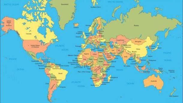 Нова карта світу