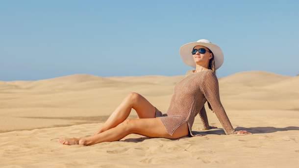 Наносить солнцезащитный крем нужно несколько раз в день