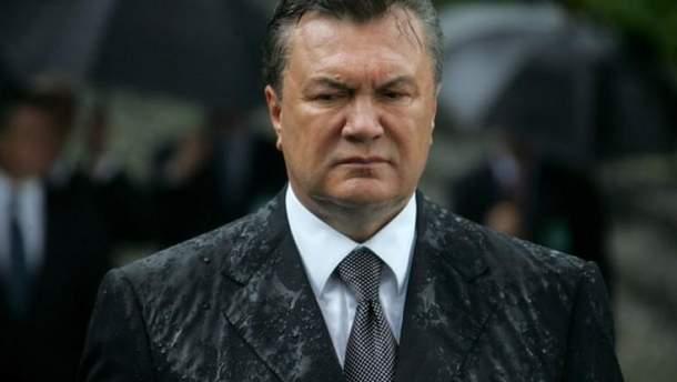 В Украине продолжается судебный процесс над экс-президентом