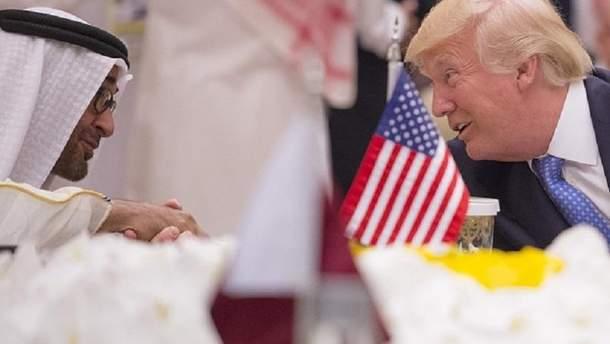 Трамп в Саудівській Аравії