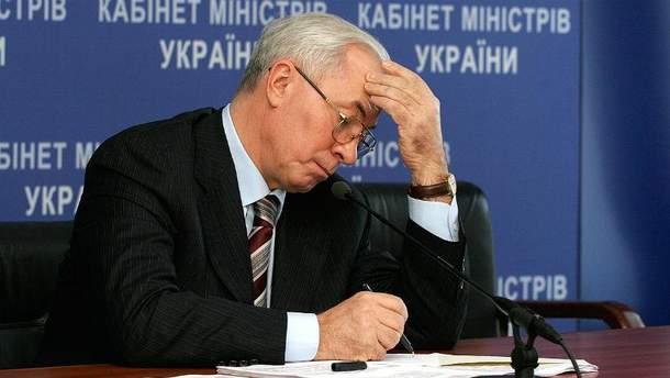 Колишній прем'єр-міністр України Микола Азаров