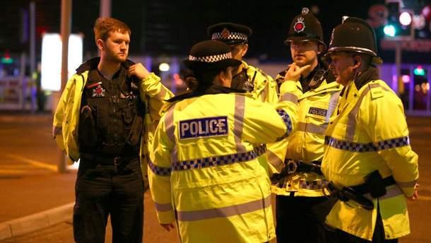 Поліцейські на місці вибуху в Манчестері