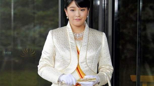 Внучка японского императора Мако Акисино