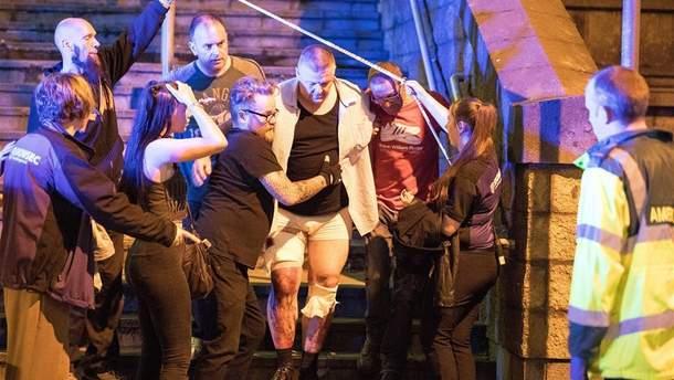 Теракт в Манчестері 2017