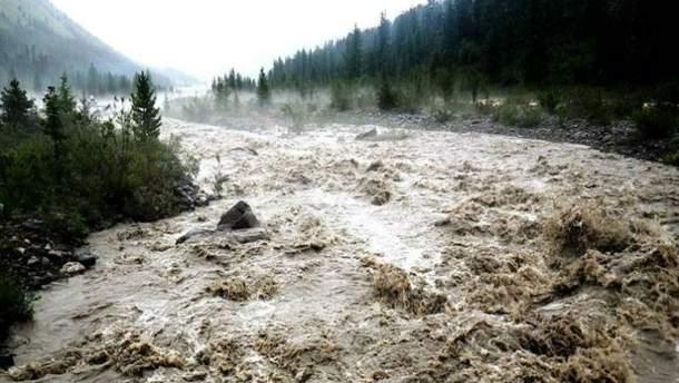 На Западе прогнозируют селевые потоки