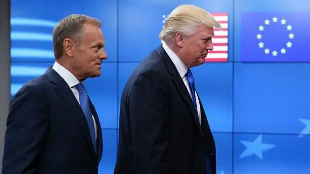 Дональд Трамп зустрівся з Дональдом Туском
