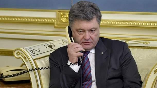 Петр Порошенко поговорил с Джастином Трюдо