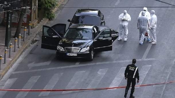 В Греції підірвали авто екс-чиновника