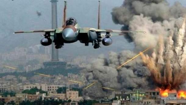 Авиаудар в результате которого погибло 105 гражданских