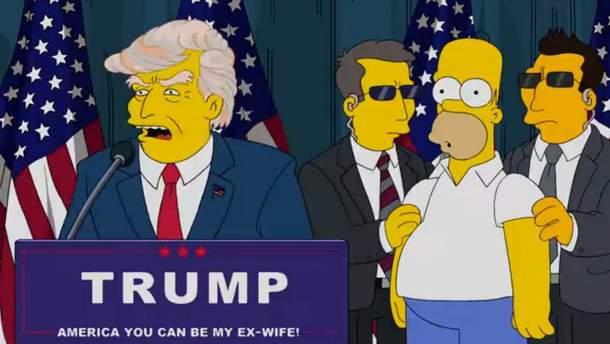 """Трамп и """"Симпсоны"""""""
