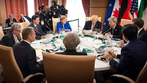 G7 не може дійти згоди щодо російського питання