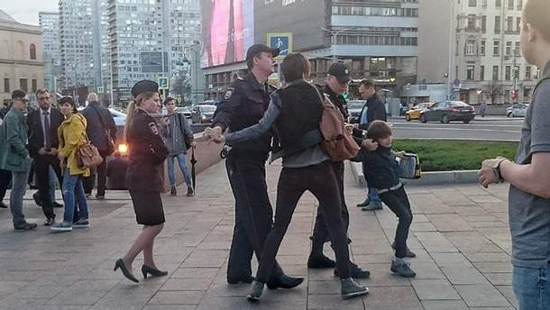 Громкое задержание мальчика в Москве