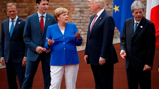Саміт G7: Ангела Меркель розчарована позицією Трампа