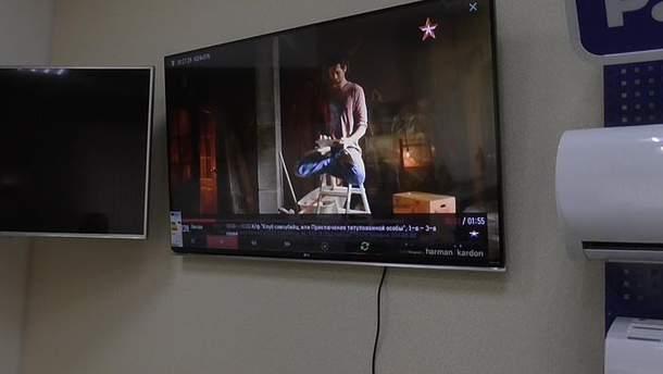Транслювали заборонені телеканали