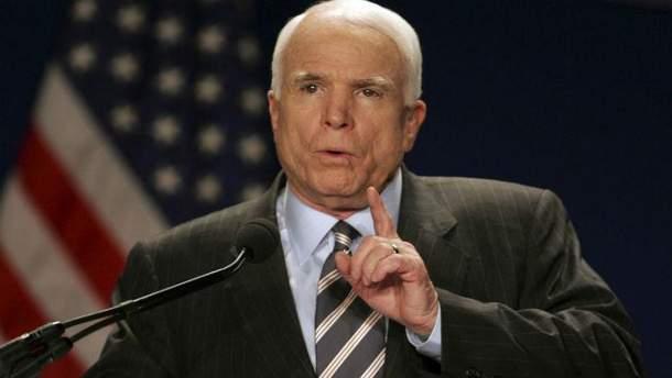 Маккейн назвав Путіна більшою загрозою, ніж ІДІЛ