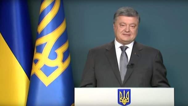 Порошенко привітав українців з ратифікацією Сенатом Нідерландів Угоди про асоціацію Україна-ЄС