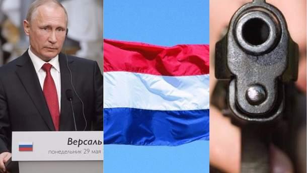 Обмовка Путіна, ратифікація Угоди з ЄС і стрілянина в Києві
