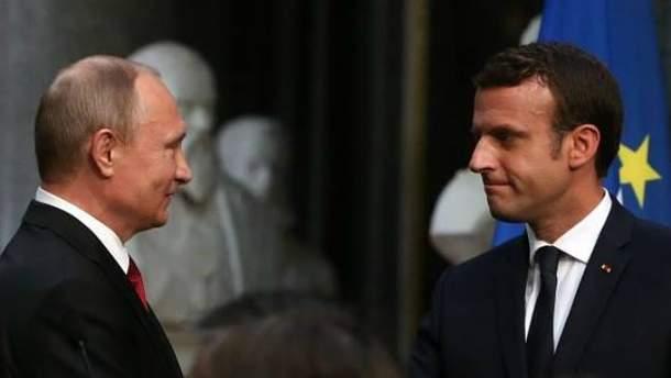 Макрона в Версале применил правильную тактику в отношении Путина