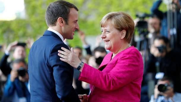 Меркель та Макрон можуть бути  чудовим політичним дуетом