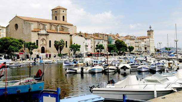 Французский город Ла-Сьота