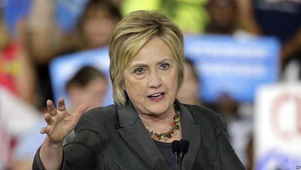 Клинтон считает, что именно Трамп координировал российских хакеров