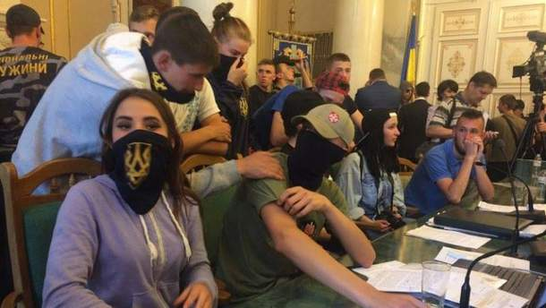 Штурм Львівської облради