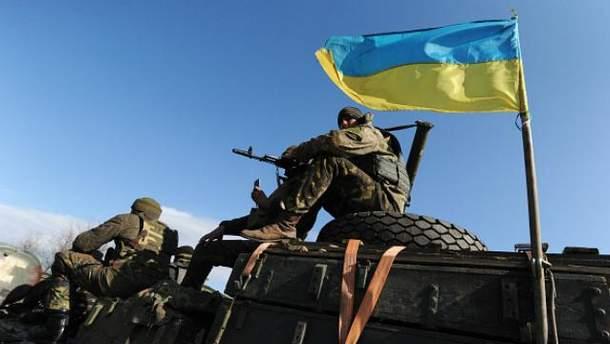 В рядах украинских военных,  к счастью, без потерь
