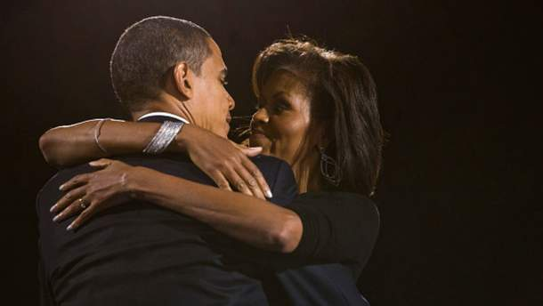 Барак Обама з дружиною Мішель